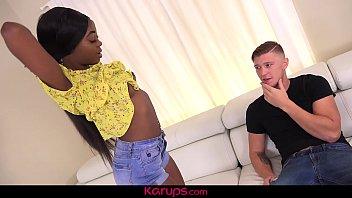 Karups - Black Teen Tori Montana Fucked By White Cock