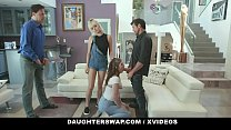 DaughterSwap - Teens (Nova Cane) (Remy Rayne) Obey Their Step Dad And Have Orgy