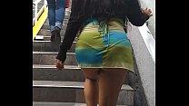 Soy Meche Candela Con Un Sexi Vestido Caminando En El Metro Chapultepec