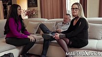 MARISKAX Mariska joins a hot swinger couple
