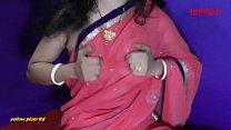 Indian Anita bhabi ki chudai pink saree me with Hindi audio