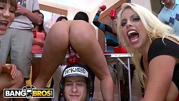BANGBROS - Curvy Pornstars Crash Dorm Room Shindig And Fuck The Frat Boys