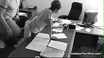 Amateur Porn Office Spycam Caught Boss Fucks Secretary