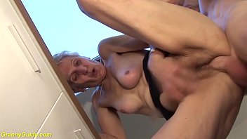 83 years old mom b. fucked by stepson