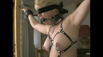 French slut 56 pierced with safety pins