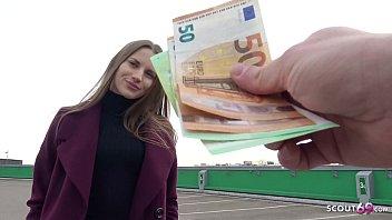 GERMAN SCOUT - SLIM TOURIST GIRL STELLA GET FUCK FOR CASH AT STREET PICK UP MODEL JOB