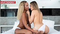 LETSDOEIT - I Had Sex For The First Time With My New Girl And I Felt Amazing (Blue Angel & Romy Indy)
