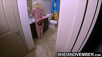 HD Step Dad Stalking Black StepDaughter On The Commode For Pussy, Msnovember Young Ebony Ass Yanked Off Of The Toilet While Pissing By Horny Father In Law And Savagely Fucked Hardcore Standing Up While Her Mom Slept On Sheisnovember Secrete Coitus xxx