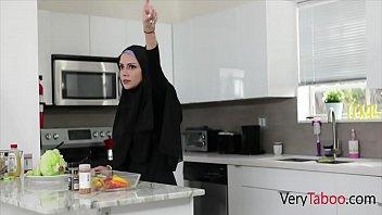 Ebony Sister In Hijab Fucked By Brother- Milu Blaze