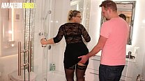 AMATEUR EURO - Horny Guy Fucks At His Place With A Hot Girl That He Just Found On Tinder - Mariella Sun