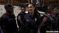 Police Officer Eliza Ibarra Deepthroats Every Big Black Cock 8 min