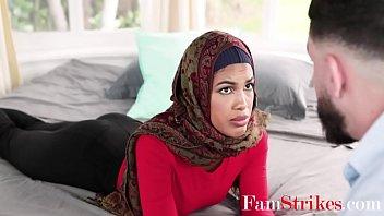 Arab Sister In Hijab Practices Fucking On Brother- Maya Farrell