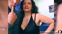FILTHY MILF likes to get two cocks in her cunt and her ass!