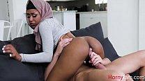 Ebony Sister In Hijab Fucks Brother- Milu Blaze
