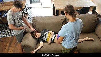 Boyfun -  Evan Ryker and Jake Olsen Pound The Tight Ass Of Gregor Gilead