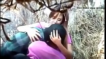 indian cute couple fucking in park part 2