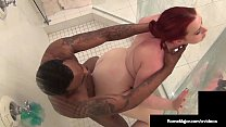 Red BBW Amerie Gets Her Big Pussy Pounded By BBC Rome Major!