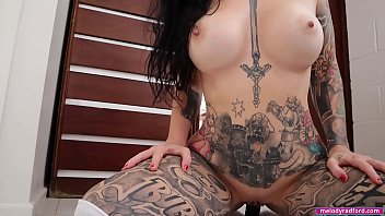 BIG TIT Fat Ass Tattooed Milf Does He First Big Black Dildo Show FUCKING and SUCKING the s. Out Of It For Her STEP SON - Melody Radford