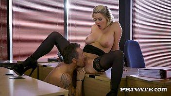 Private.com - British Office Slut Sienna Day Milks Boss Dry!