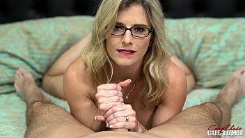 Step Mom with Big Tits Gives Me a Sensual Handjob - Cory Chase