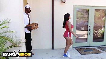 BANGBROS - Teen PAWG Keisha Grey Getting Stuffed With Big Black Cock