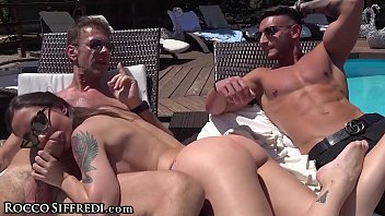 RoccoSiffredi Orgy Party By The Pool 11 min
