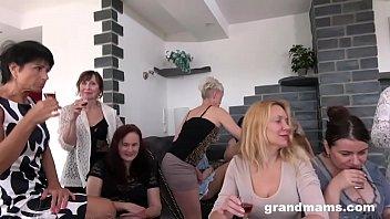 Biggest Granny Fuck Fest part 1 10 min