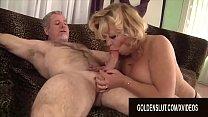 Golden Slut - Older Ladies Show off Their Cock Sucking Skills Compilation 18