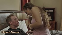 Gorgeous Chick (Gia Derza) Rides Her Horny Stepdads Big Cock - SweetSinner