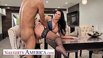 Naughty America - Jasmine Jae helps herself to a Big Black Cock!