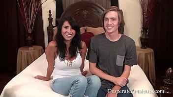 Casting Danielle AKA Evi Fox Desperate Amateurs First Time