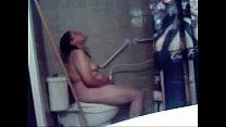 Hidden cam catches great masturbation of my mom in toilet