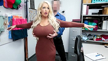 Cashier Accuses Hot Milf of Shoplifting Precious Jewelry From the Mall - Alura Jenson