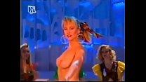 German Stripper on Television 1990