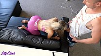 Petite Beauty Sucks And Fucks After The Gym | Letty Black