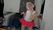 Dancing sissy b. denver shoemaker wiggles around like a good girl