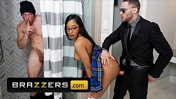 Naughty Teen (Lala Ivey) Enjoys a Threesome With Two Guys - Brazzers