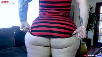 big butt Goth Pawg Vicky Vixen debuts on BBWHighway.com