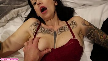 BIG TIT Mature Aussie Tattooed Instagram Model Milfs ONLYFANS Quick Fuck With Roommate Before Her Husband Gets Home POV behind the scenes - Melody Radford