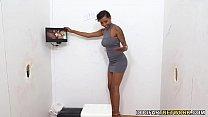Ebony September Reign Tries Gloryhole Sex