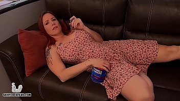 Stoner Mom Truth or Dare with Son - Shiny Cock Films