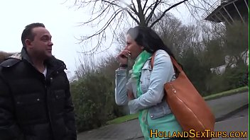 Real european prostitute gets tongued