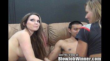Thin big Titty pornstar Courtney Cumz blows her fan untill all sees his cumshot