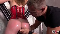 Hot petite slut Vika Lita is into BDSM hardsex