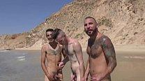 Yonatan Agassi fucks on the beach in Israel