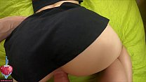 POV closeup doggystyle and reverse cowgirl with bubbly creampie