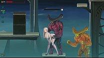 Dark Star gameplay Cute girl in sex with aliens hentai ryona
