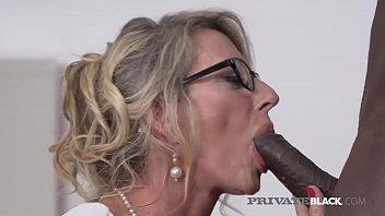 PrivateBlack - Man Milking Milf Marina Beaulieu Dark Dicked! 10 min