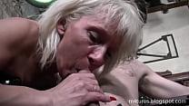 French Old Slut Granny Anal
