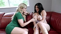 Horny Step Mom Licks Busty Step Daughters Pussy - Gabriela Lopez and Cory Chase